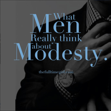 What Men really think about Modesty